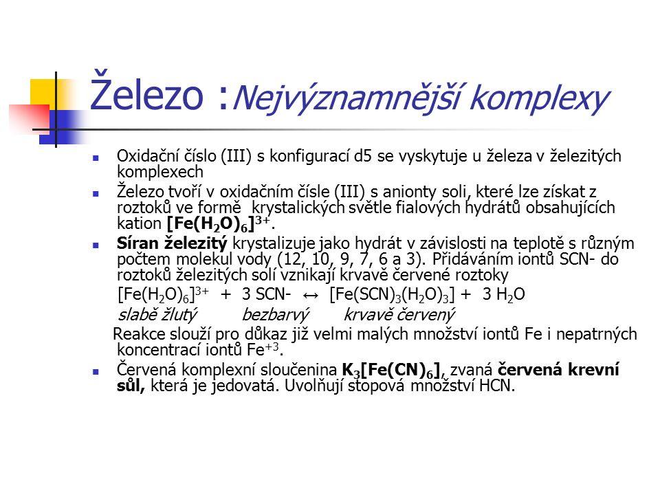 Měď, stříbro a zlato: Sloučeniny Oxid měďný Cu 2 O se nejpohodlněji připraví přidáním hydroxidu sodného a některého nepříliš silného redukčního činidla (např.