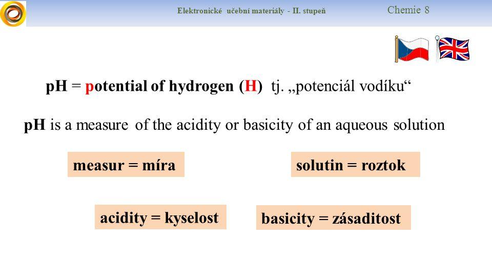 Elektronické učební materiály - II.stupeň Chemie 8 Postup práce a vypracování protokolu 1.