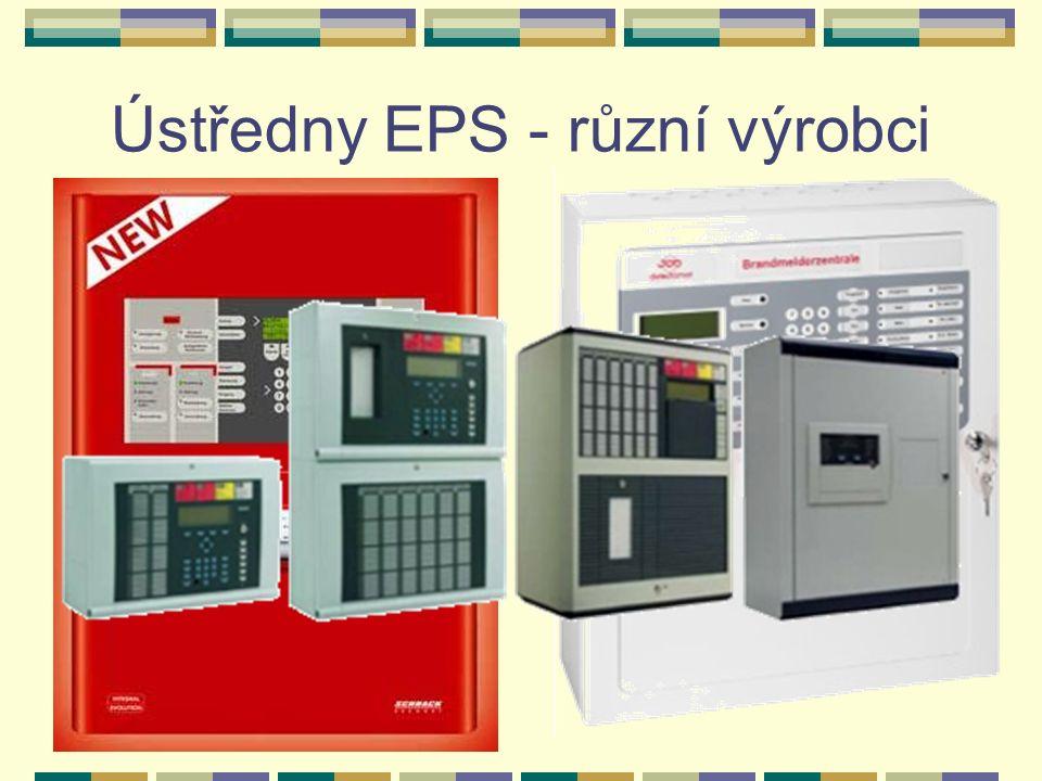 Modernizovaná ústředna EPS