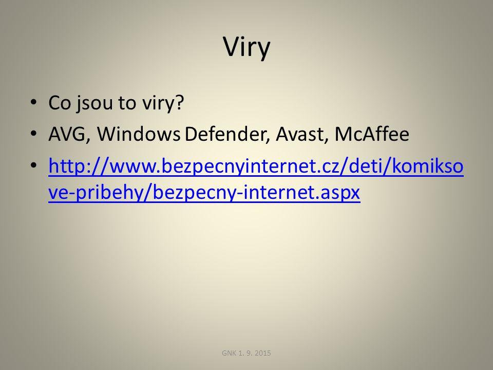 Viry Co jsou to viry.
