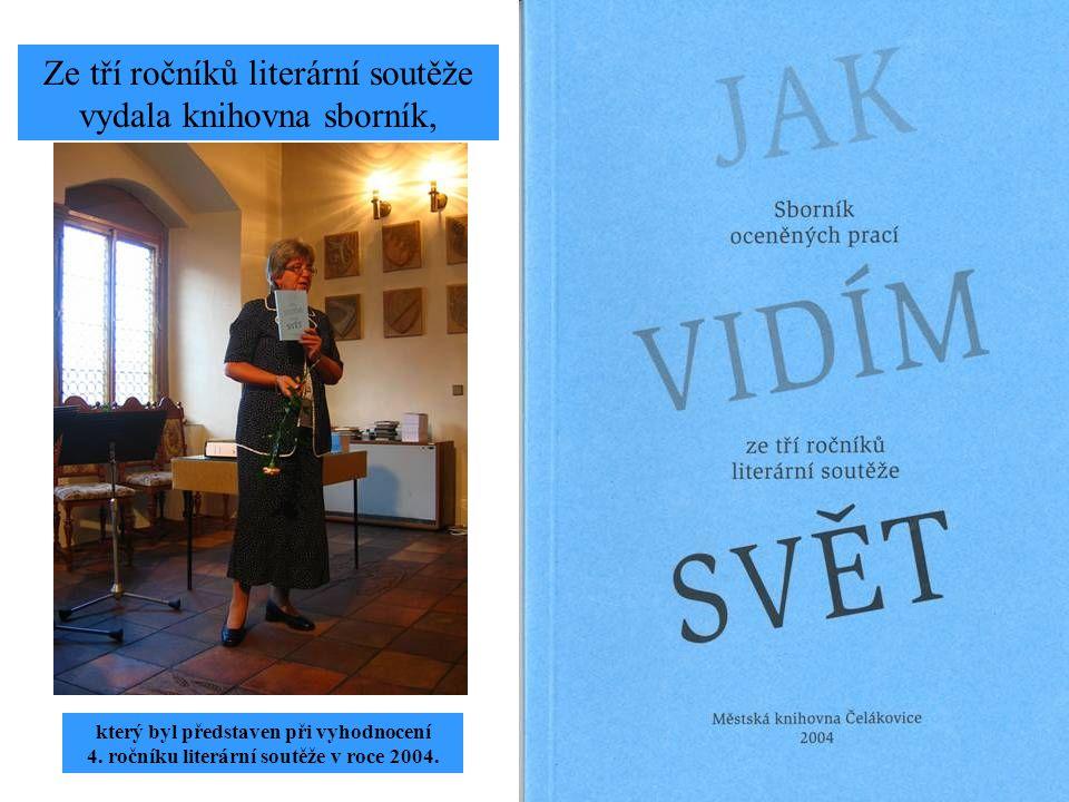 Literární soutěže rok 1998 - 2000 - 2002 1.