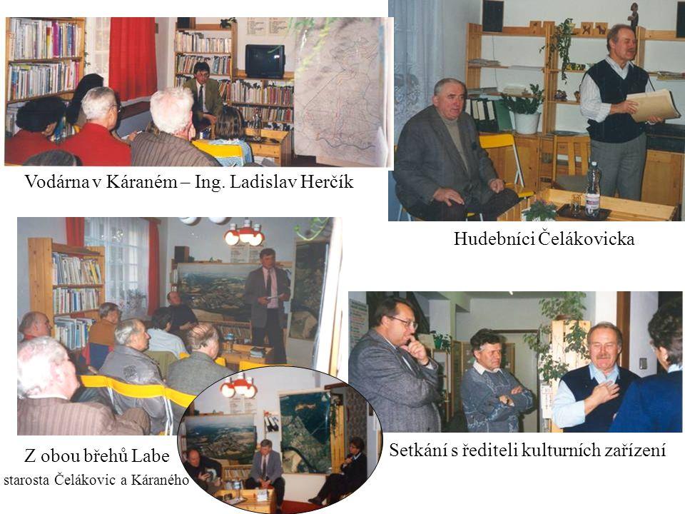 Setkání s řediteli kulturních zařízení Vodárna v Káraném – Ing.