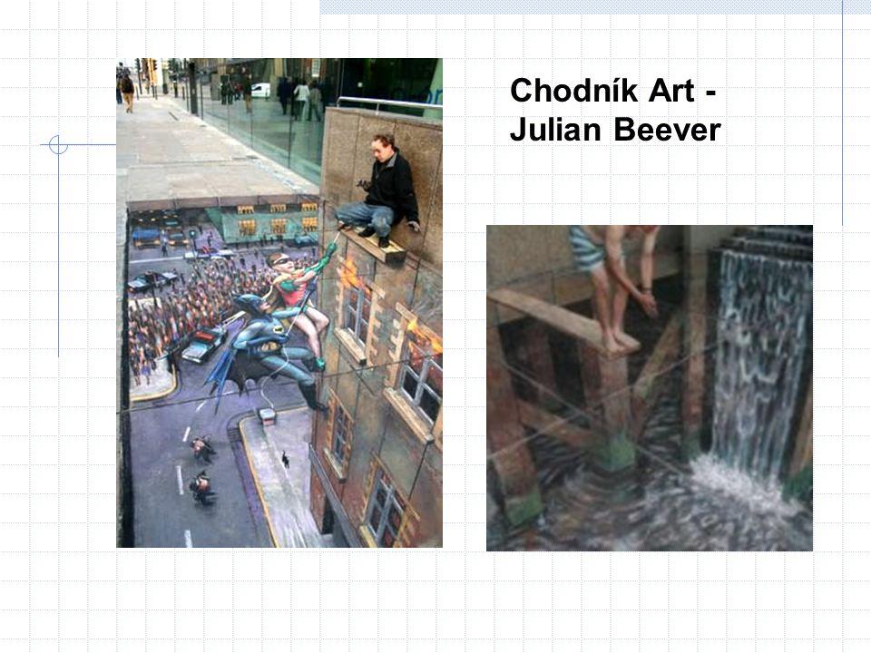 Chodník Art - Julian Beever