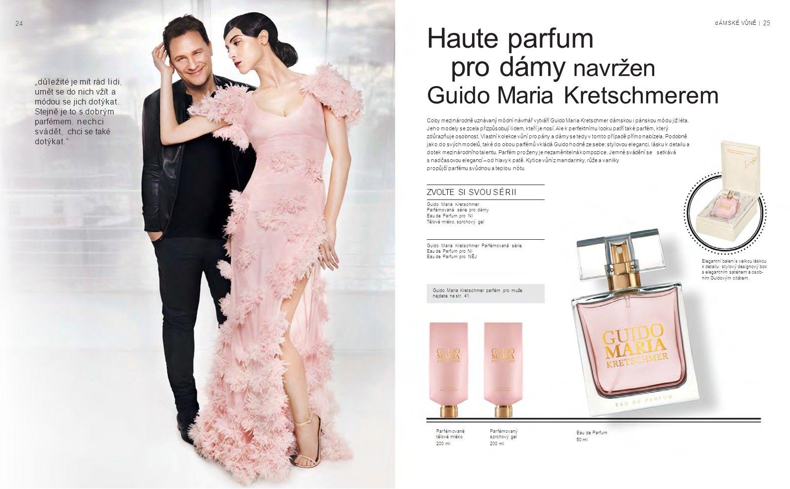2424 Guido Maria Kretschmer parfém pro muže najdete na str.