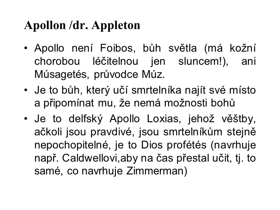 Apollon /dr.