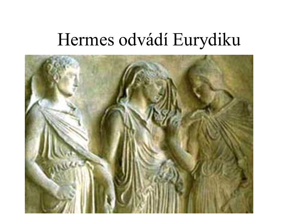 Hermes odvádí Eurydiku