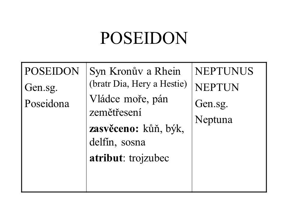 POSEIDON Gen.sg.