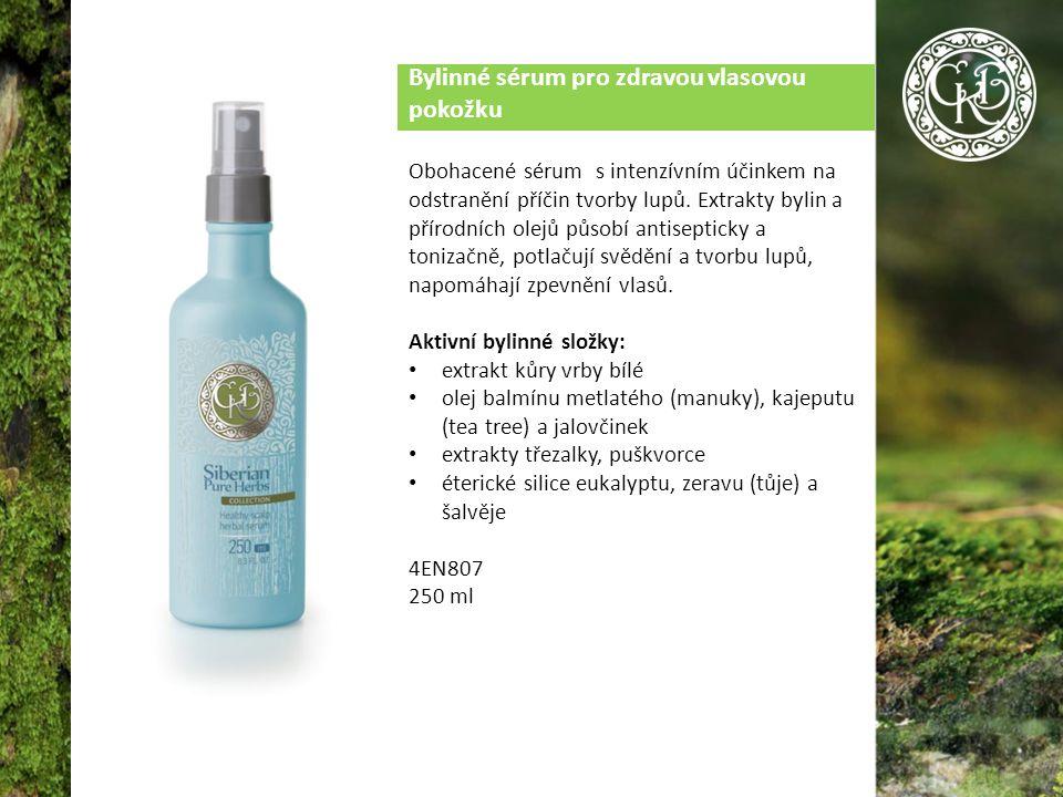 Bylinné sérum pro zdravou vlasovou pokožku Obohacené sérum s intenzívním účinkem na odstranění příčin tvorby lupů.