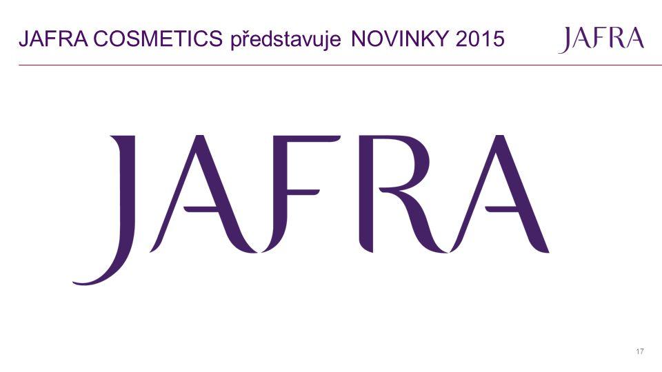 JAFRA COSMETICS představuje NOVINKY 2015 17
