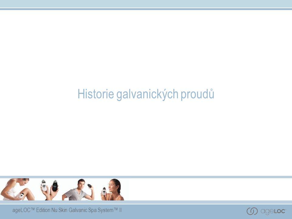 Historie galvanických proudů
