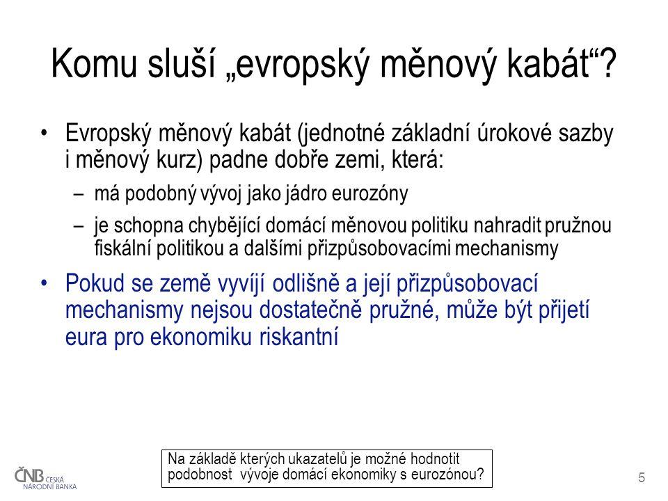 """5 Komu sluší """"evropský měnový kabát ."""