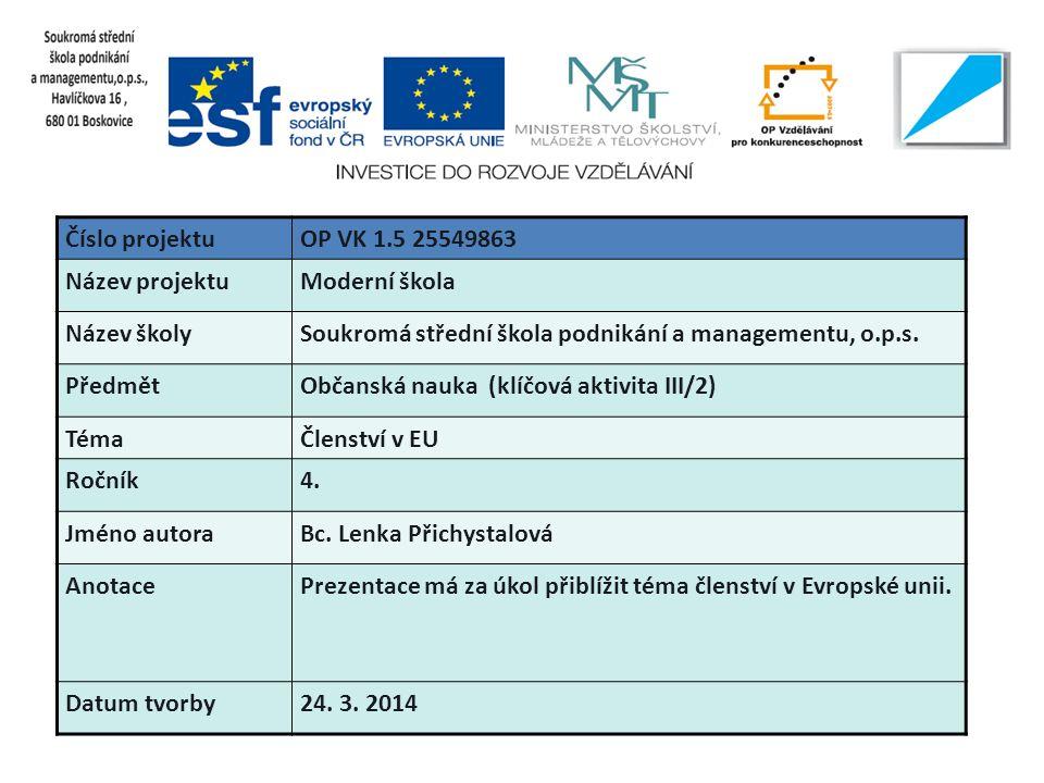  V současné době má EU 28 členů  Mluví se tu 24 jazyky  V EU žije přes 500 milionů lidí  Česká republika oslavila dne 1.5.2014 slavit 10 let od vstupu do EU