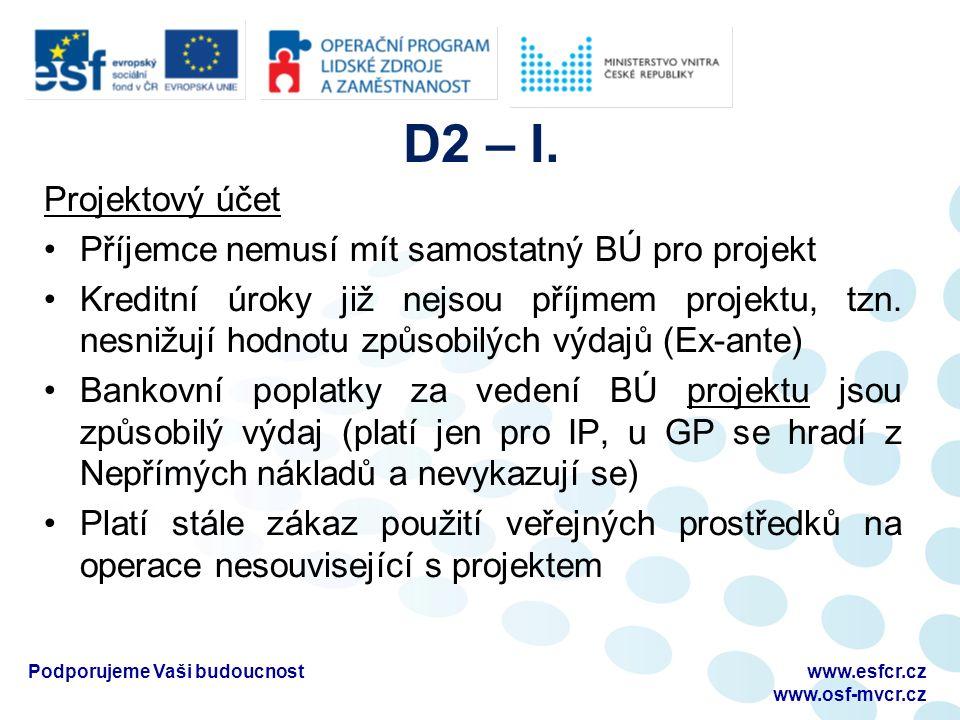D2 – I.
