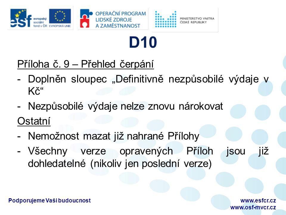 D10 Příloha č.