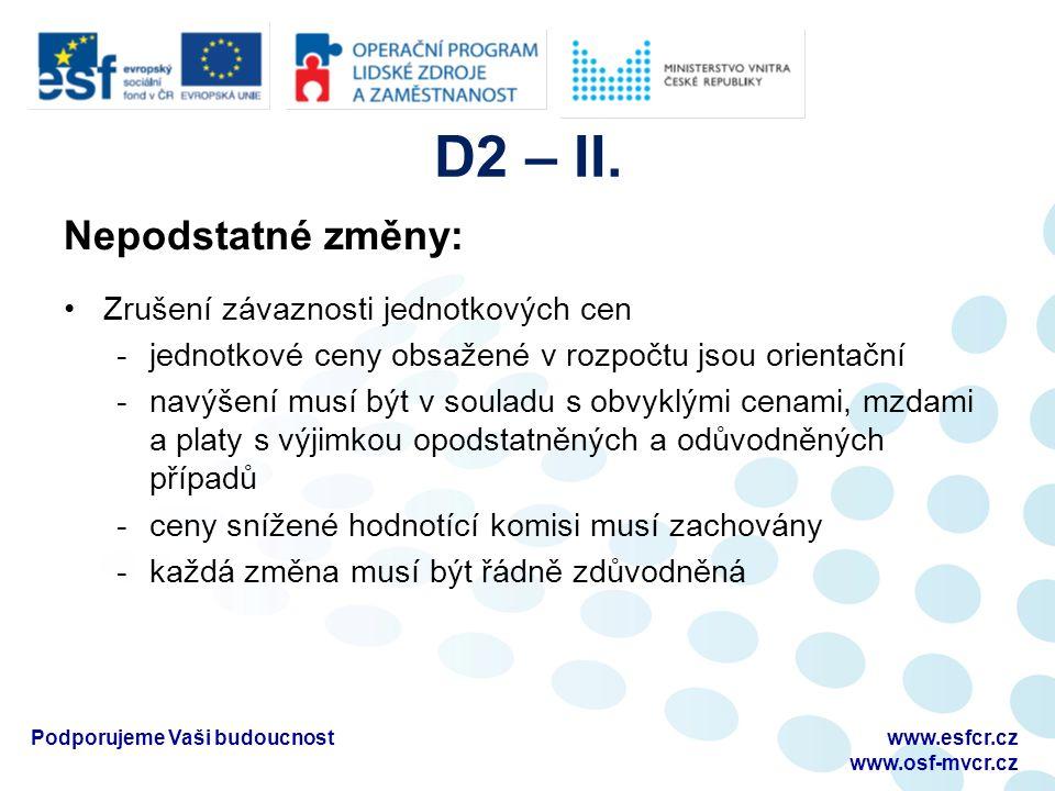 D 2 – III.
