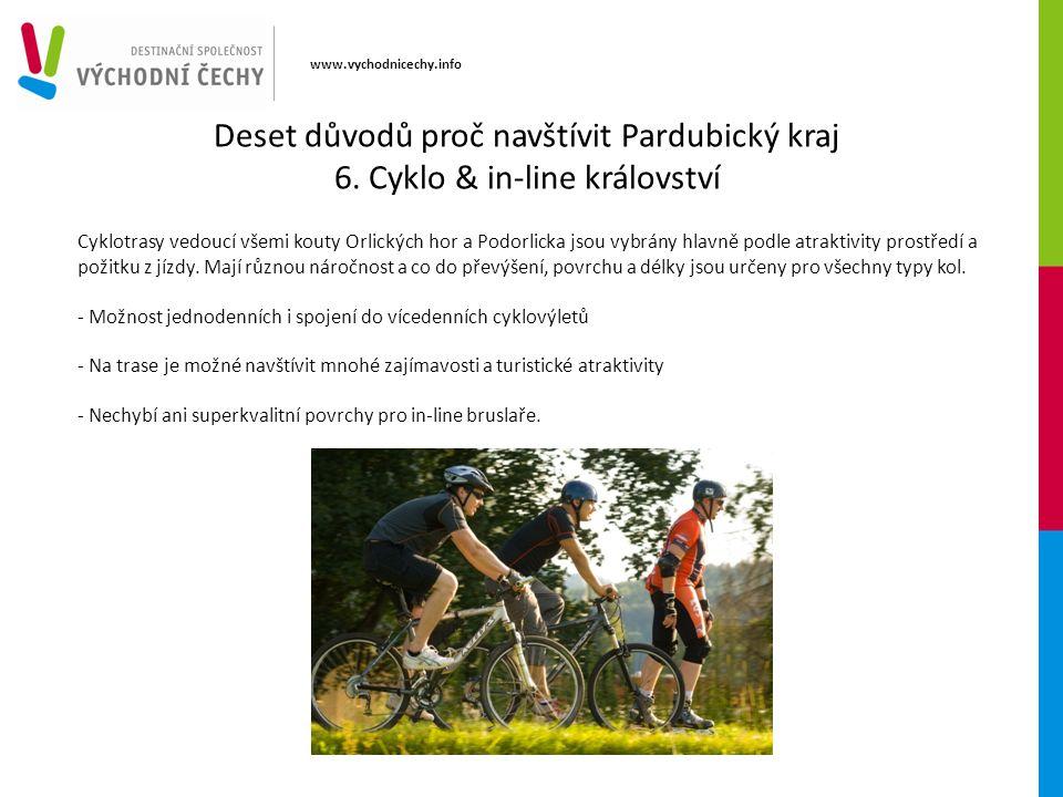 www.vychodnicechy.info Cyklotrasy vedoucí všemi kouty Orlických hor a Podorlicka jsou vybrány hlavně podle atraktivity prostředí a požitku z jízdy. Ma