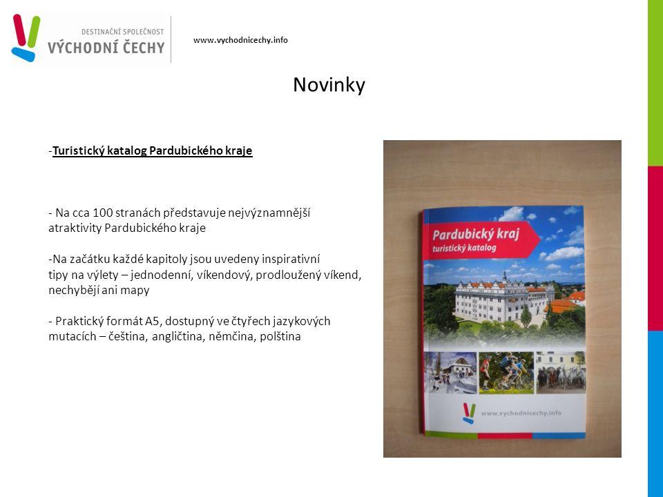 www.vychodnicechy.info -Turistický katalog Pardubického kraje - Na cca 100 stranách představuje nejvýznamnější atraktivity Pardubického kraje -Na začá