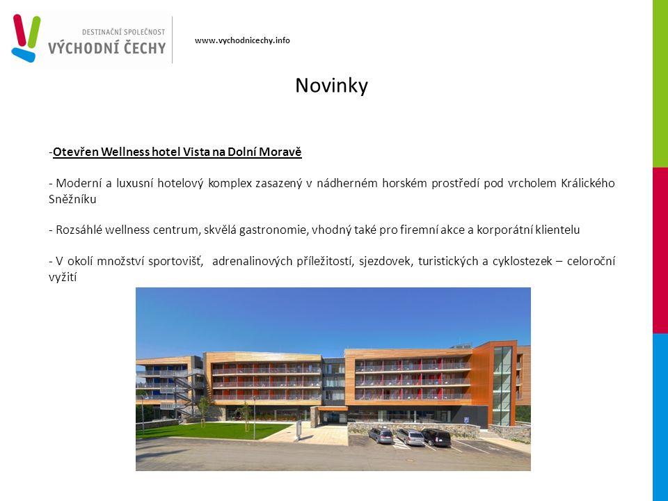 www.vychodnicechy.info -Otevřen Wellness hotel Vista na Dolní Moravě - Moderní a luxusní hotelový komplex zasazený v nádherném horském prostředí pod v