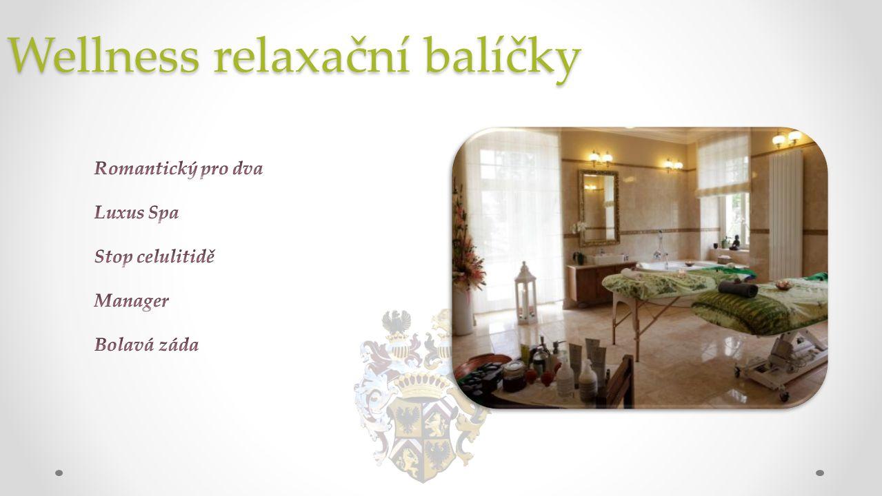 Wellness relaxační balíčky