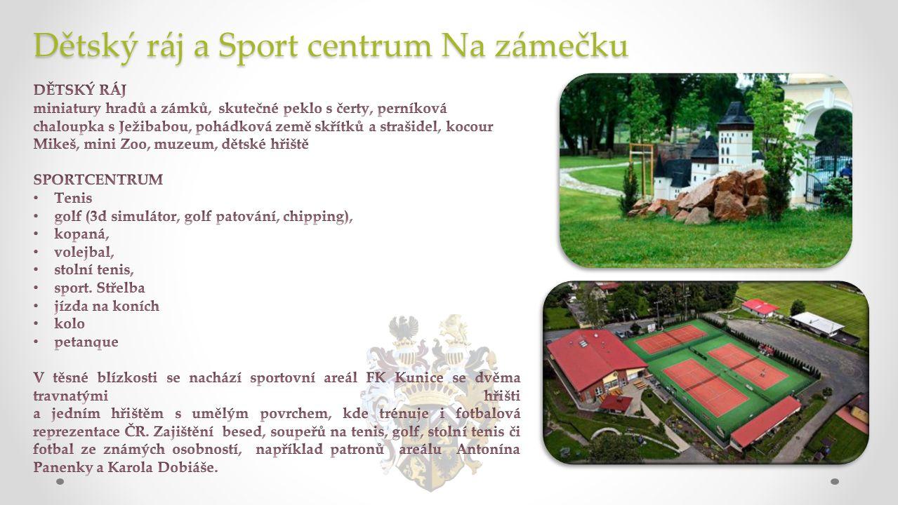 Dětský ráj a Sport centrum Na zámečku