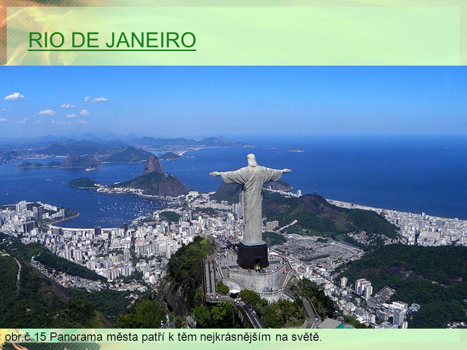 RIO DE JANEIRO obr.č.15 Panorama města patří k těm nejkrásnějším na světě.