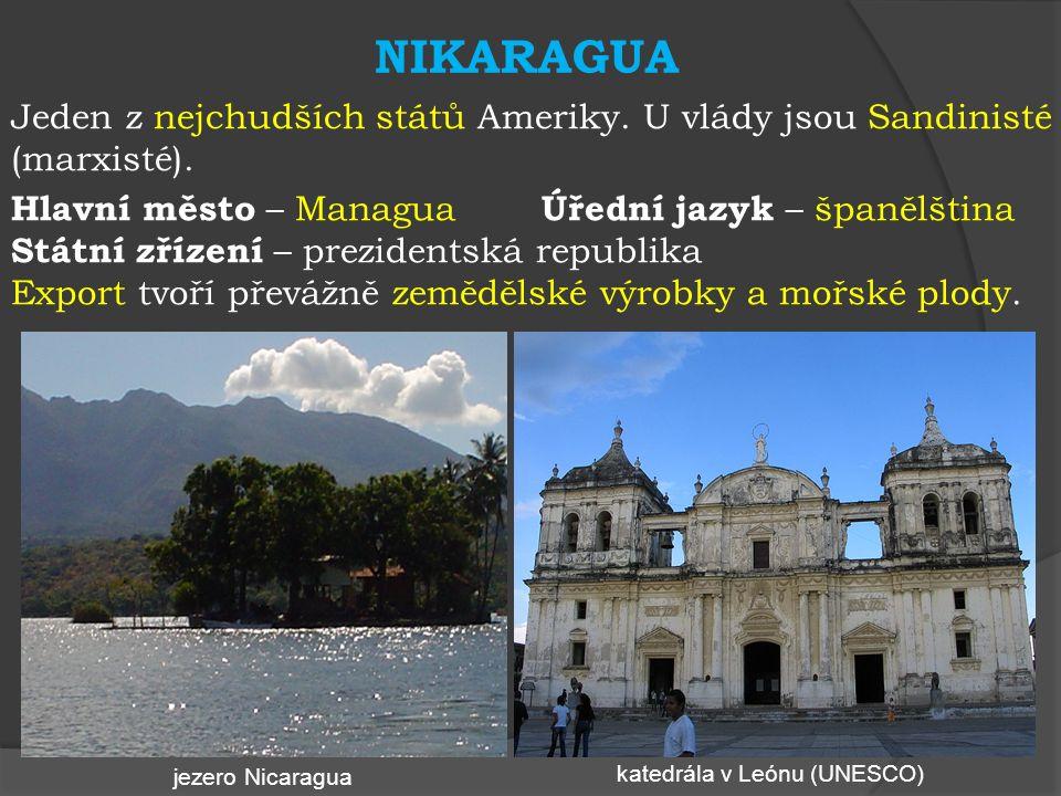 SALVADOR Občanská válka ukončena v roce 1992. V současnosti nefungující demokracie.