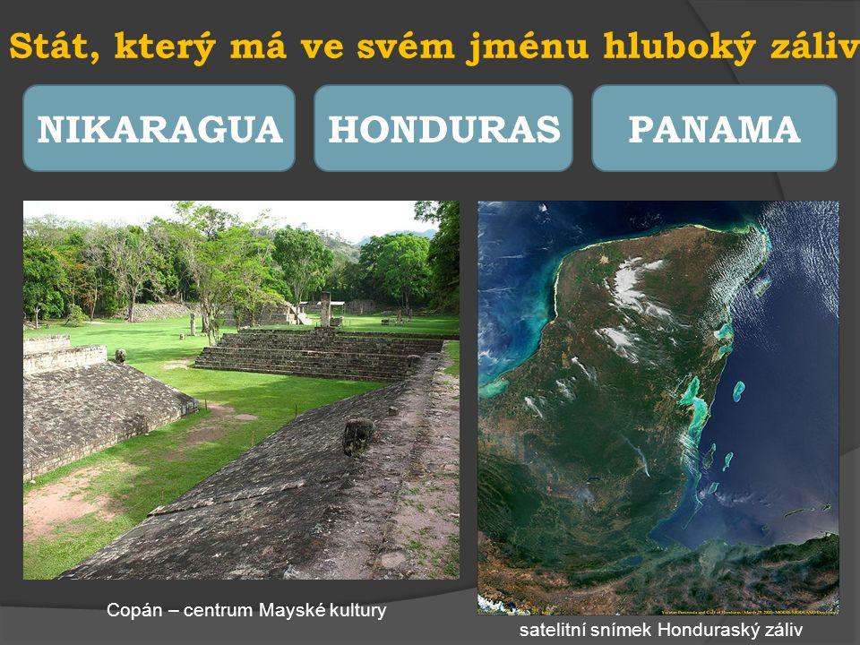 Stát, ve kterém je úředním jazykem angličtina SALVADORBELIZEGUATEMALA satelitní snímek Belize a útesová bariéraBelmopan budova parlamentu
