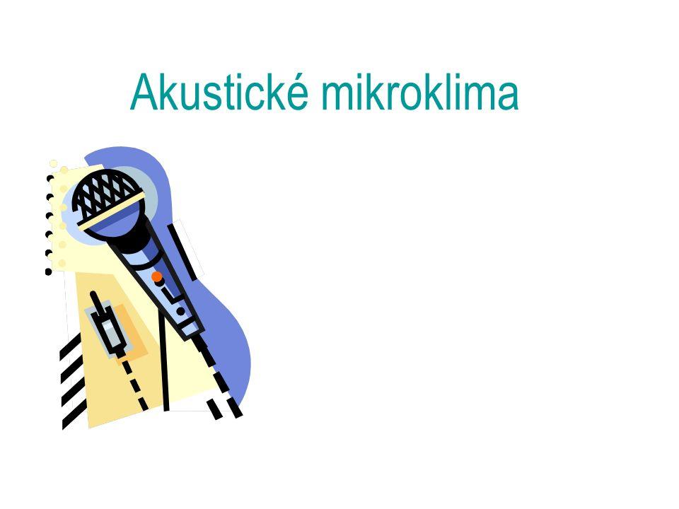 Akustické mikroklima