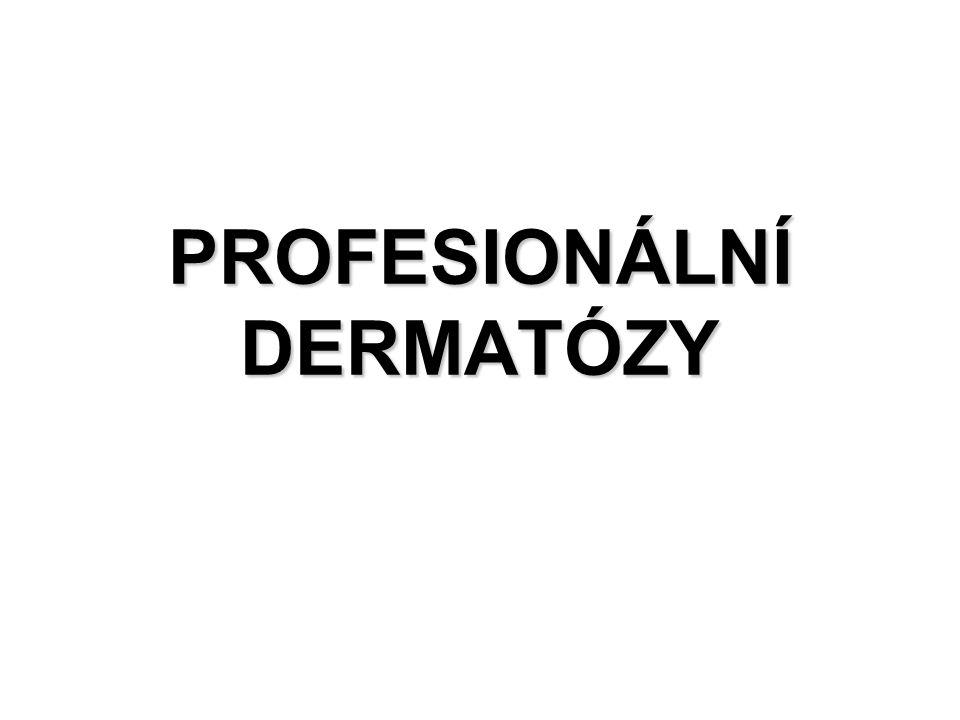 PROFESIONÁLNÍ DERMATÓZY