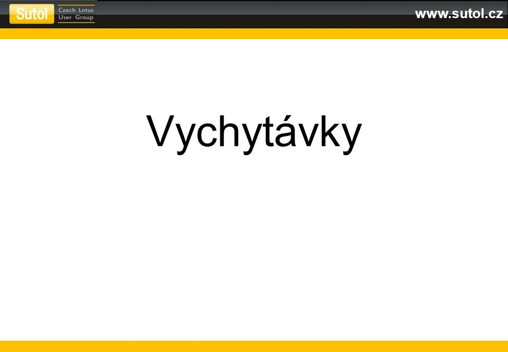 www.sutol.cz Vychytávky