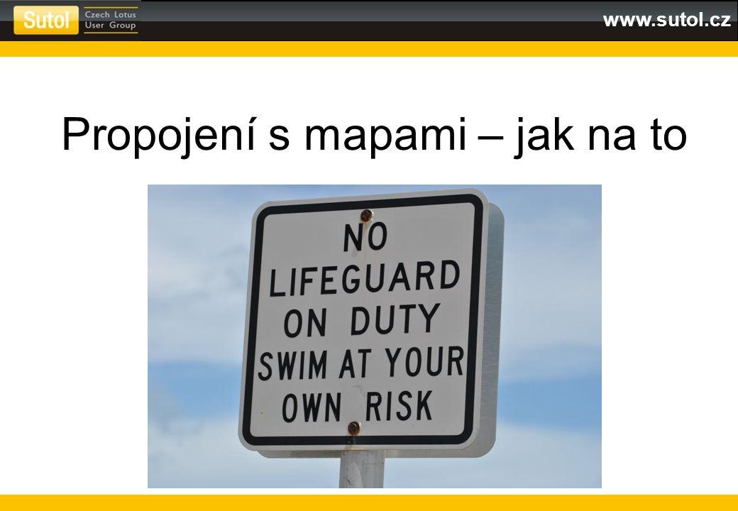 www.sutol.cz Propojení s mapami – jak na to