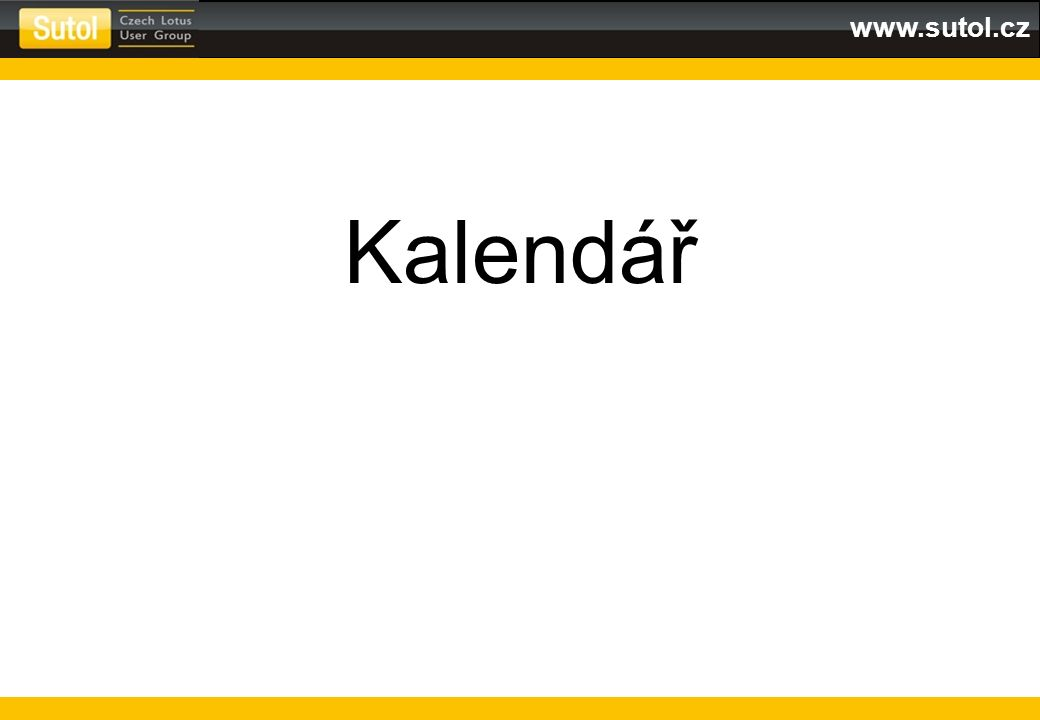 www.sutol.cz Kalendář