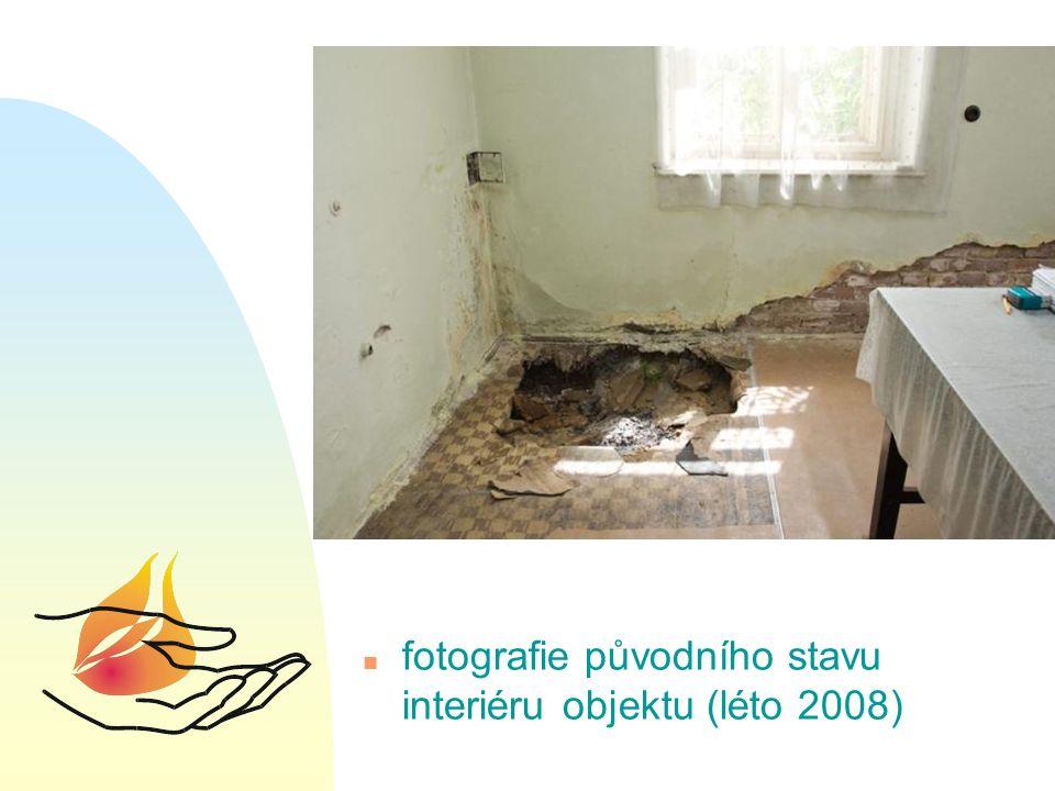 n fotografie původního stavu interiéru objektu (léto 2008)