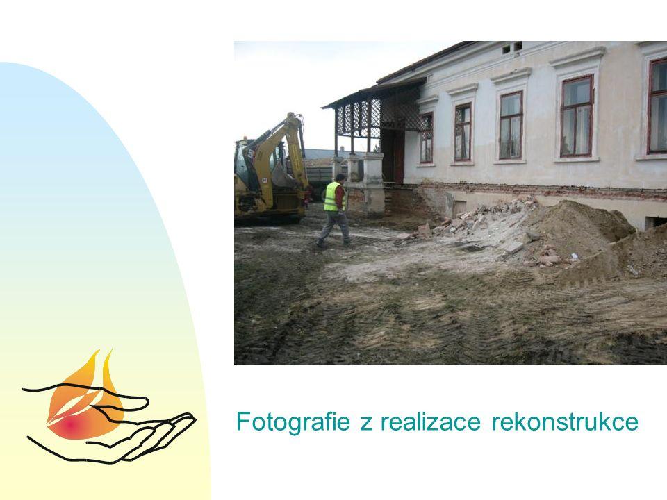 Fotografie z realizace rekonstrukce