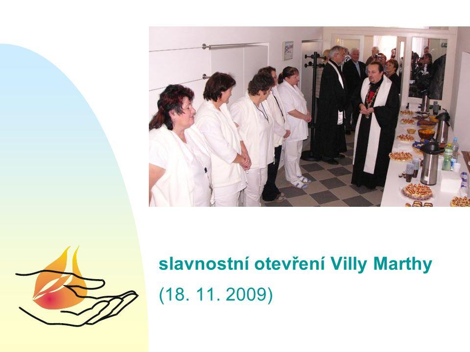 slavnostní otevření Villy Marthy (18. 11. 2009)