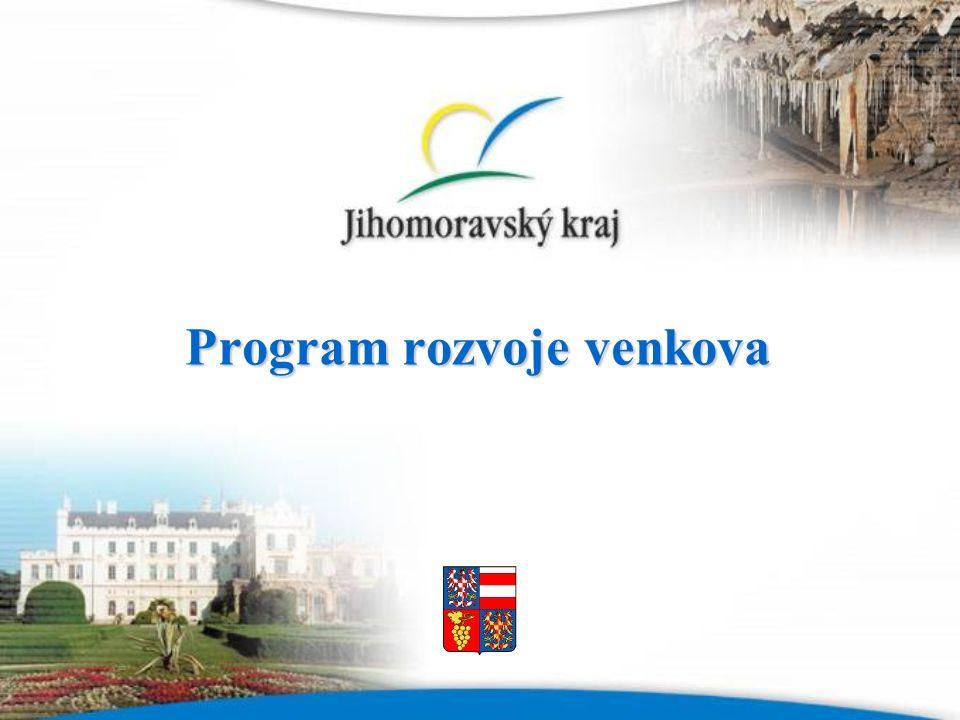 Program rozvoje venkova Program rozvoje venkova