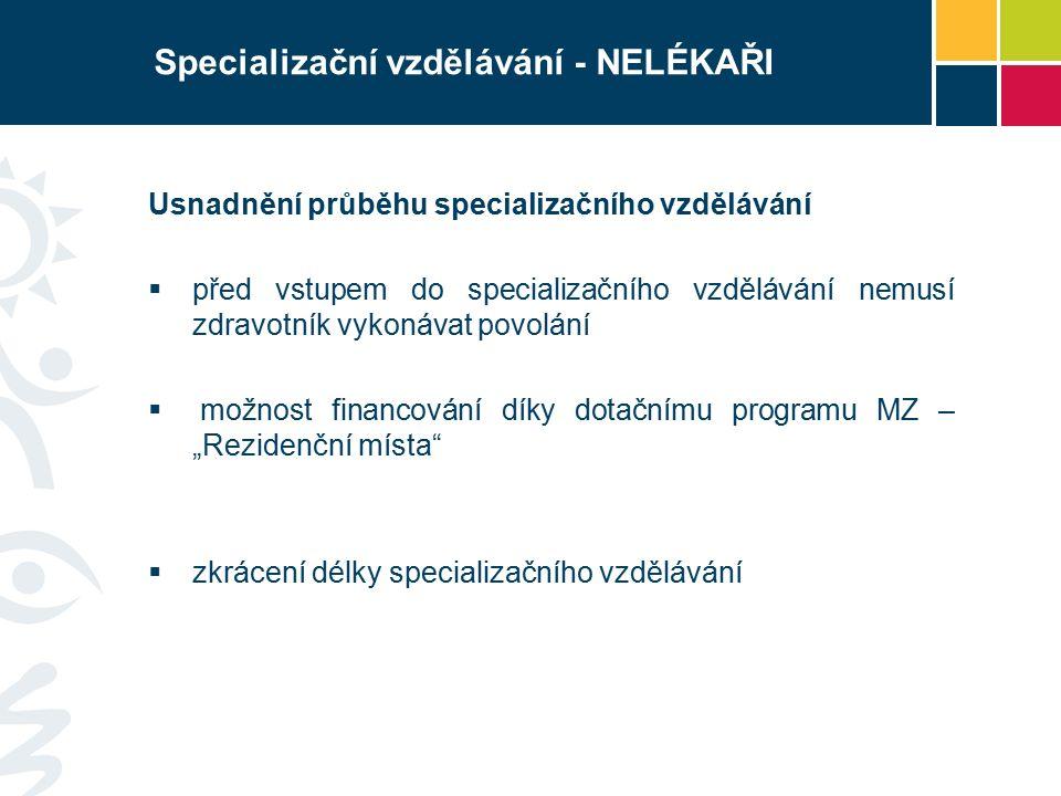 Specializační vzdělávání IV.