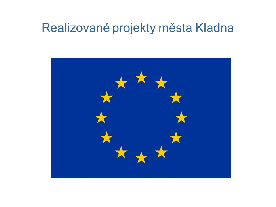 Realizované projekty města Kladna