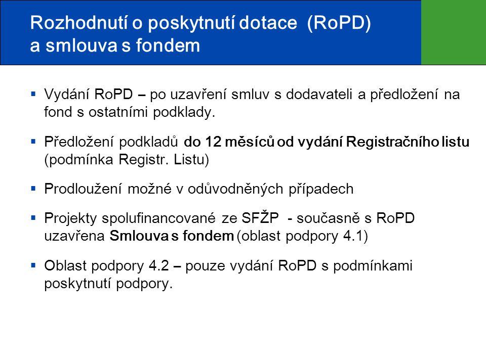 Předpoklad přípravy OPŽP 2014+ Přípravou a řízením OPŽP 2014+ bylo usnesením vlády ČR č.