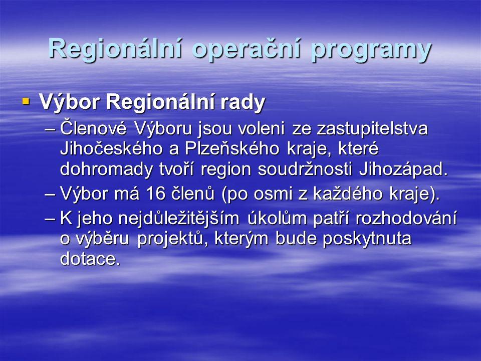 Regionální rada má tři orgány:  Předseda Regionální rady - hejtman Plzeňského kraje MUDr.