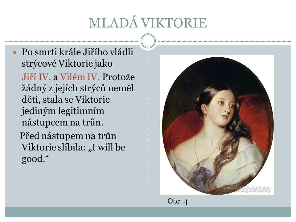 VIKTORIE A ALBERT V r.1838 se Viktorie po smrti strýce Viléma IV.