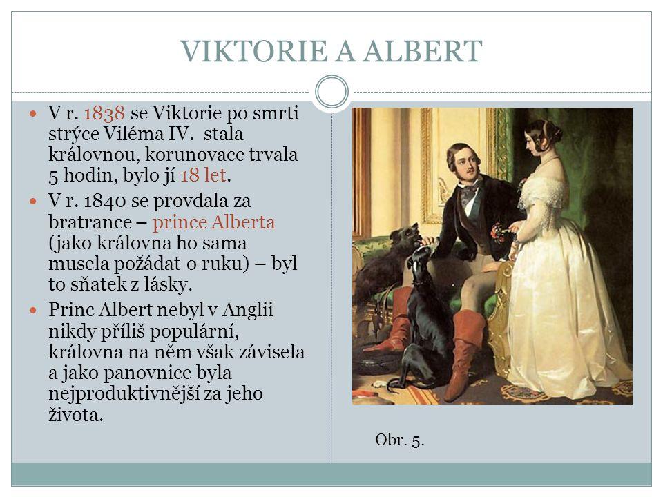 VIKTORIE A ALBERT Měli spolu 9 dětí.