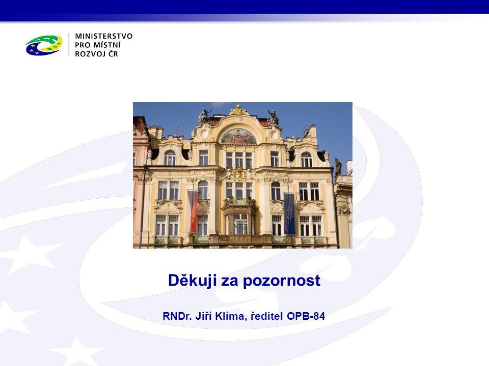 Děkuji za pozornost RNDr. Jiří Klíma, ředitel OPB-84