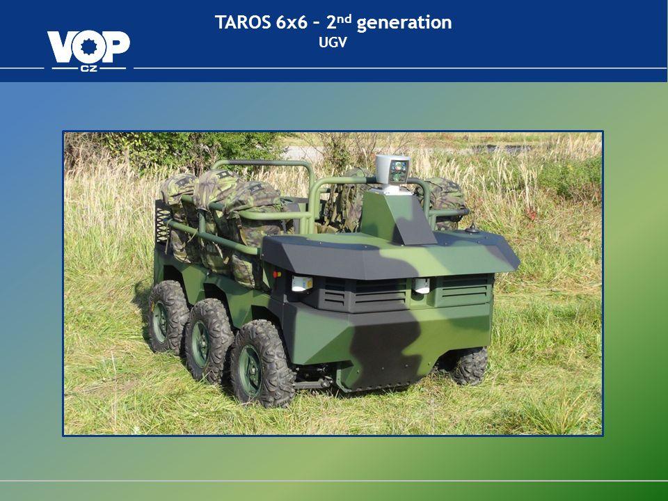 TAROS 8x8 – 2 nd generation Unit construction modular concept