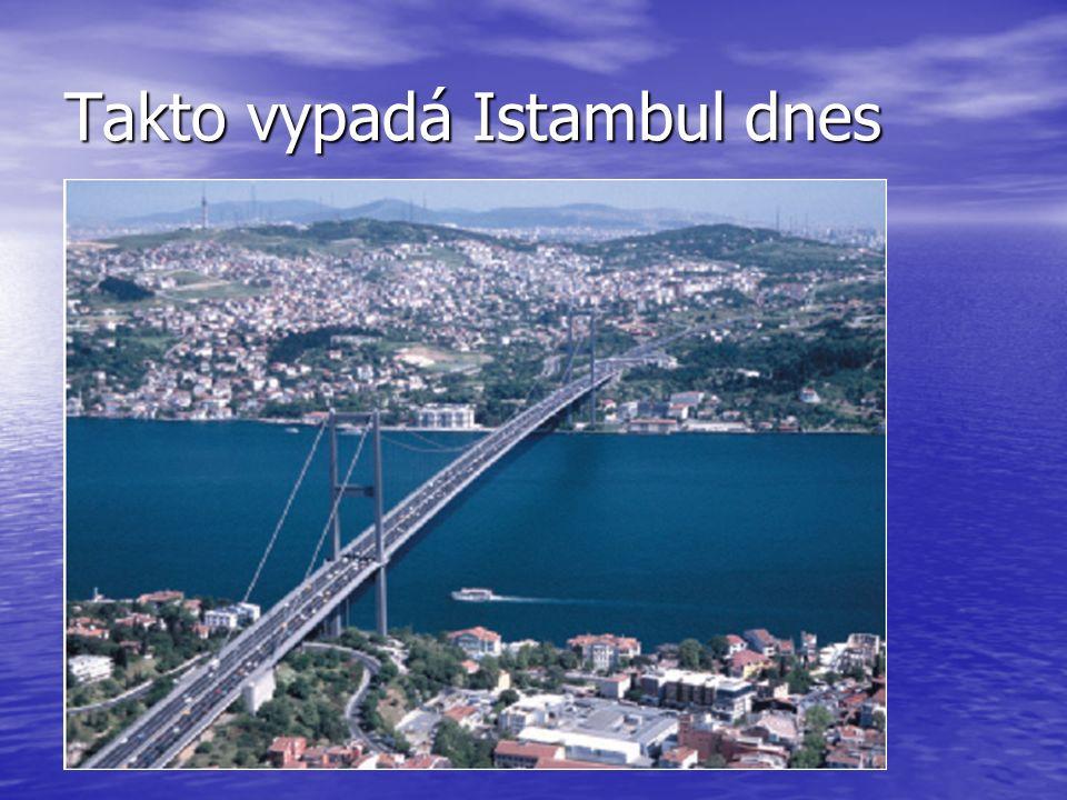 Takto vypadá Istambul dnes