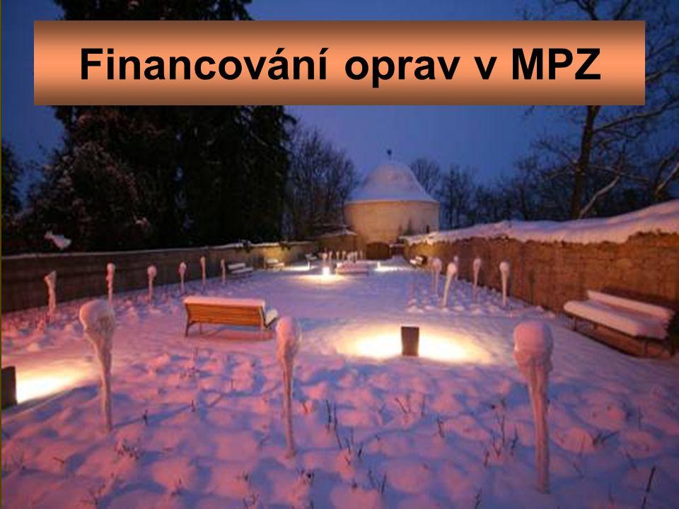 Financování oprav v MPZ