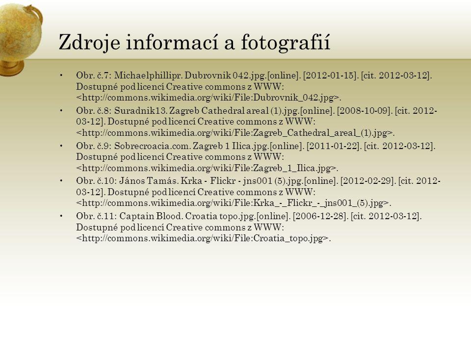 Zdroje informací a fotografií Obr. č.7: Michaelphillipr.