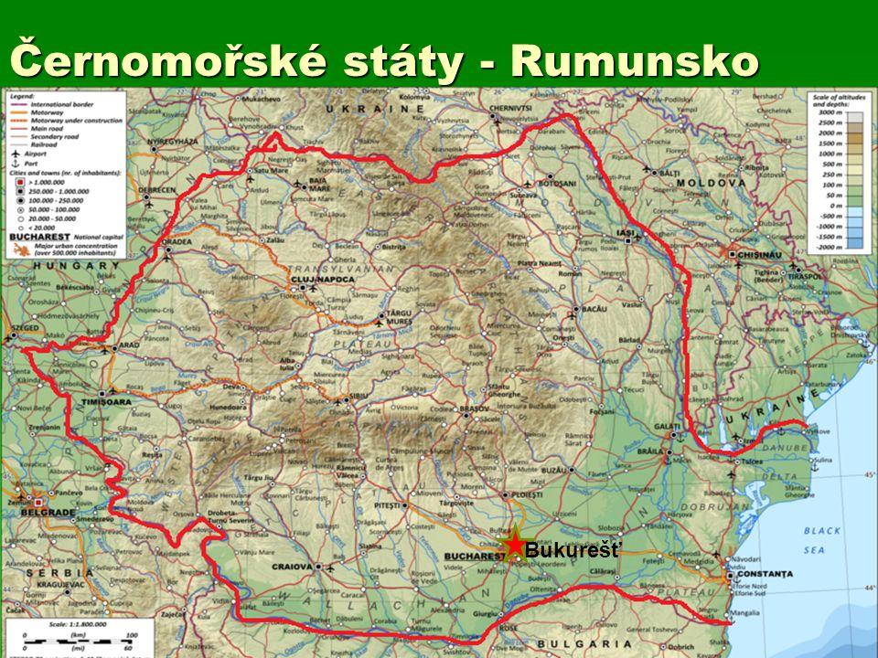 Černomořské státy - Rumunsko Bukurešť