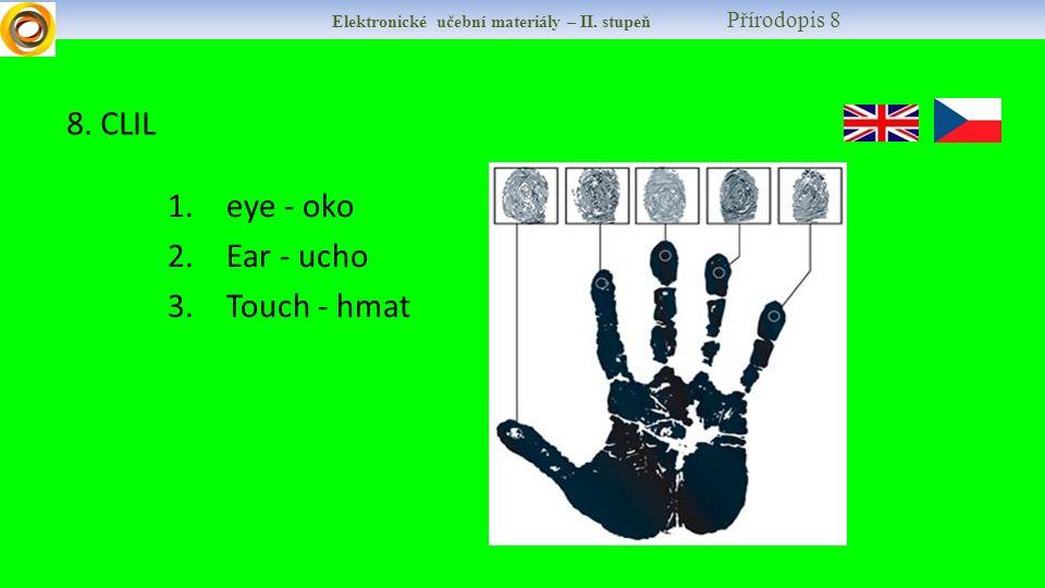 Elektronické učební materiály – II. stupeň Přírodopis 8 8.