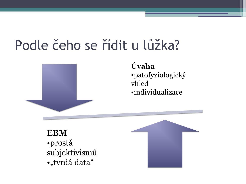 Re: Nejsou tvrdá data na podporu užití speciálních substrátů (farmakonutrientů) v EN u tohoto pacienta.